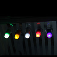 berøre lette mini sugekopp dytt-LED natt lys romantiske bar hjem innredning barn (tilfeldig farge)