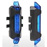 안전 등 / 자전거 후미등 - 싸이클링 방수 / 휴대성 / 경고 그외 15 루멘 USB 레드 사이클링