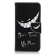 olcso Galaxy Note tokok-Case Kompatibilitás Samsung Galaxy Samsung Galaxy Note Kártyatartó Pénztárca Állvánnyal Flip Héjtok Szó / bölcselet PU bőr mert Note 5