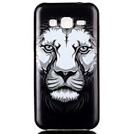 Недорогие Чехлы и кейсы для Galaxy Core Prime-Для Кейс для  Samsung Galaxy С узором Кейс для Задняя крышка Кейс для Животный принт TPU SamsungJ2 / J1 / Grand Prime / Grand Neo / Core