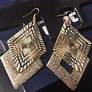 povoljno Nakit i ručni satovi-Žene Viseće naušnice Personalized Vintage Nakit sa stilom Legura Geometric Shape Jewelry Vjenčanje Party Special Occasion Dnevno Kauzalni