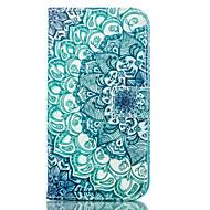 Недорогие Чехлы и кейсы для Galaxy J1-Для Кейс для  Samsung Galaxy Бумажник для карт / Кошелек / со стендом / Флип / С узором Кейс для Чехол Кейс для Мандала Искусственная кожа