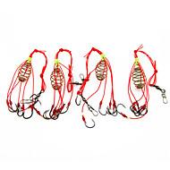 お買い得  釣り用アクセサリー-フィッシングアクセサリー フィッシング - 4 個 - 使いやすい ステンレス鋼/鉄 - 海釣り フライフィッシング ベイトキャスティング 穴釣り 川釣り その他 流し釣り/船釣り 一般的な釣り 鯉釣り