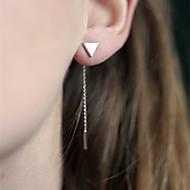 povoljno Nakit i ručni satovi-Žene Viseće naušnice Simple Style Europska Legura Háromszög Jewelry Dnevno Kauzalni Nakit odjeće