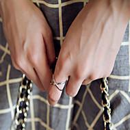 Недорогие $0.99 Модное ювелирное украшение-Жен. Набор украшений - Сплав Мода Регулируется Серебряный / Золотой Назначение Для вечеринок / Повседневные
