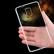 cheap Cases / Covers for Samsung-Case For Samsung Galaxy Samsung Galaxy Note Ultra-thin Transparent Back Cover Solid Color TPU for Note 5 Note 4 Note 3