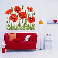 Dekorative Mur Klistermærker - Fly vægklistermærker Jul / Blomster / Højtid Stue / Soverom / Leserom / Kontor / Kan fjernes