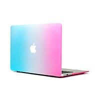 """3 w 1 tęczy kolorowe gumą ciężka pokrywa + pokrywa klawiatura + Screen Protector dla MacBook Pro 13 """"/ 15"""""""