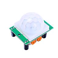 お買い得  Arduino 用アクセサリー-hc-sr501 ir赤外線モーション検知センサーモジュールfor arduino