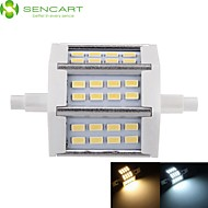 5W R7S LED Floodlight Recessed Retrofit 24 SMD 5730 450-500 lm Warm White Cold White 3000-3500  6000-6500 K Dimmable AC 85-265 V