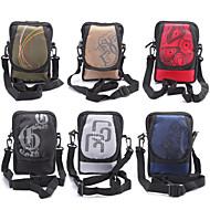 kam poliészter gyöngy anyag hátizsák és sporttáska Samsung Galaxy S6 szélén plusz / S6 él / S6 / S5 / S4 / S4