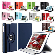 cheap iPad Accessories-360 Degree Rotating Stand PU Leather Auto Sleep and Wake Up Case Cover for iPad Air