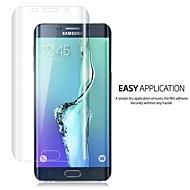 voordelige Galaxy S Screenprotectors-lnkoo 9h thinest volledige dekking gebogen bescherming van gehard glas voor de Samsung Galaxy s6edge + plus