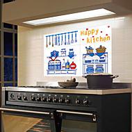 billige Rengøringsforsyninger-Høj kvalitet Køkken Olie resistente klistermærker Beskyttelse,Aluminium