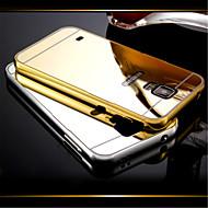 Недорогие Чехлы и кейсы для Samsung-Кейс для Назначение SSamsung Galaxy Кейс для  Samsung Galaxy Покрытие Зеркальная поверхность Кейс на заднюю панель Сплошной цвет ПК для S5