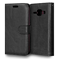 Wall Bracket PU Leather Material Phone Case Holster for Samsung  Galaxy J1/J5/J7/G360/G530/G388/9060