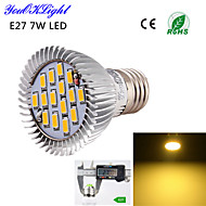お買い得  LED スポットライト-YouOKLight 600 lm E26/E27 LEDスポットライト A50 15 LEDの SMD 5630 装飾用 温白色 AC 110〜130V AC 220-240V