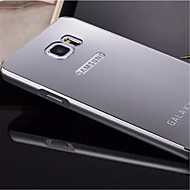 For Samsung Galaxy Note Plating / Mirror Case Back Cover Case Solid Color Metal Samsung Note 5 Edge / Note 5 / Note 4 / Note 3