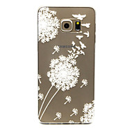 For Samsung Galaxy etui Transparent Etui Bagcover Etui Mælkebøtte TPU for Samsung S6 edge plus S6 edge S6 S5 Mini S5
