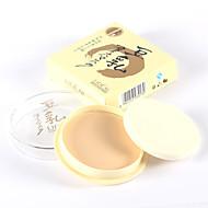 3 Puder Trocken KompaktpuderFeuchtigkeit / Weiß machen / Concealer / Unebener Hautton / Natürlich / Verhindert Augenringe /