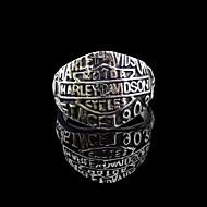 Prstenje Vjenčanje / Party / Dnevno / Kauzalni / Sport Jewelry Tikovina Muškarci Prstenje sa stavom 1pc,7 / 8 / 9 / 10 / 11 / 12 / 13