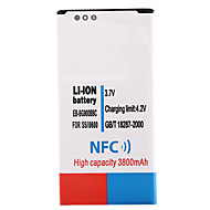 3,7 V 3800mAh Li-ion batterij met nfc voor Samsung i9600 s5