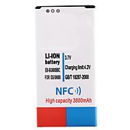 olcso Akkumulátorok-3.7V 3800mAh Li-ion akkumulátor NFC Samsung i9600 s5