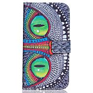 Назначение Кейс для  Samsung Galaxy Чехлы панели Кошелек Бумажник для карт со стендом Флип Чехол Кейс для Сова Искусственная кожа для