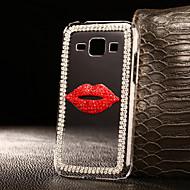 Для Кейс для  Samsung Galaxy Чехлы панели Стразы Прозрачный Задняя крышка Кейс для 3D в мультяшном стиле PC для SamsungA3 (2017) A5