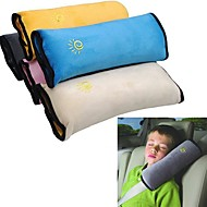 ziqiao赤ちゃんの車の安全ベルトは肩パッドが子供の子供のための車両のシートベルトクッション(ランダムな色)を調整守ります