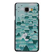 Для Кейс для  Samsung Galaxy С узором Кейс для Задняя крышка Кейс для дерево PC Samsung A7(2016) / A5(2016) / A3(2016)