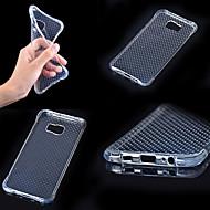 Недорогие Чехлы и кейсы для Galaxy A5(2016)-Кейс для Назначение SSamsung Galaxy Кейс для  Samsung Galaxy Защита от удара / Прозрачный Кейс на заднюю панель Однотонный ТПУ для A7(2016) / A5(2016) / A3(2016)