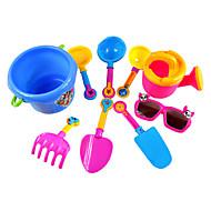 お買い得  おもちゃ & ホビーアクセサリー-自動車おもちゃ ビーチのおもちゃ ちびっ子変装お遊び ABS 9 pcs 小品 男の子 女の子 おもちゃ ギフト