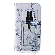 Для Кейс для  Samsung Galaxy Кошелек / Бумажник для карт / со стендом / Флип Кейс для Чехол Кейс для Соблазнительная девушкаИскусственная