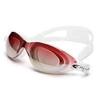 Swimming Goggles Anti-Fog Adjustable Size Anti-UV Polarized Lense Waterproof Silica Gel PC Black Blue Light Green Black Blue Light Pink