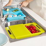 お買い得  キッチン&ダイニング-台所のシンクまな板は、ブロックをチョッピングドレインバスケットで切断洗う食器を洗います