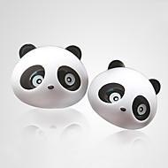 cheap Car Air Purifiers-ZIQIAO 1 Pair Lovely Panda Flavor Car Air Freshener Diffuser Outlet Magic Supplies Perfume