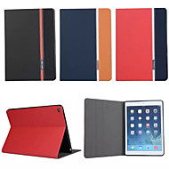 retro fashion luxe lederen flip portemonnee Stand Case voor Apple iPad lucht 2/6