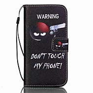 cheap Cases / Covers for Samsung-Case For Samsung Galaxy Samsung Galaxy S7 Edge Card Holder Wallet with Stand Flip Full Body Cases Cartoon PU Leather for S7 edge S7