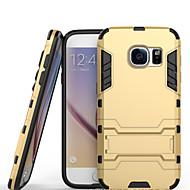 Для Samsung Galaxy S7 Edge Защита от удара / со стендом Кейс для Задняя крышка Кейс для Армированный PC Samsung S7 edge / S7