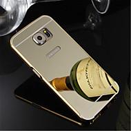 abordables Fundas / Carcasas para Samsung-Funda Para Samsung Galaxy Samsung Galaxy S7 Edge Cromado Funda Trasera Un Color ordenador personal para S7 edge / S7 / S6 edge plus
