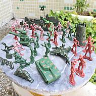 abordables Figuras de acción y Modelos-Figuras de acción Novedades Cool El plastico Chica Regalo 97pcs