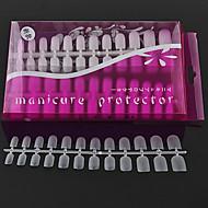 288pcs ultrafinas fácil unrig puntas de las uñas uv
