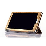 preiswerte -Hülle Für Huawei Hüllen (Full Body) Ganzkörper-Gehäuse Volltonfarbe Hart PU-Leder für