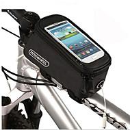 حقيبة دراجة الإطار حقيبة الهاتف الخليوي 4.2/4.8/5.5 بوصة Skidproof متعددة الوظائف الشاشات التي تعمل باللمس ركوب الدراجة إلى اي فون X