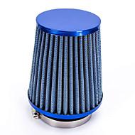 """Reemplazo de manguera de plástico de 76 mm 3 """"pinza cónica malla del filtro de entrada de aire del coche azul"""