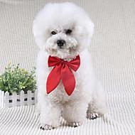 abordables Disfraces de Navidad para mascotas-Perro Corbata/Pajarita Ropa para Perro Lazo Negro Rojo Wine Terileno Disfraz Para mascotas Hombre Mujer Bonito Boda
