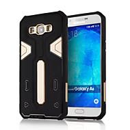 Для Кейс для  Samsung Galaxy Защита от удара Кейс для Задняя крышка Кейс для Армированный Силикон Samsung A8 / A7 / A5