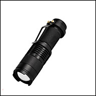 1 Linternas LED LED 350 Lumens 3 Modo LED No incluye baterías Mini Enfoque Ajustable Resistente a Golpes Impermeable Clip Emergencia