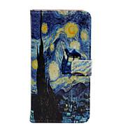 Недорогие Чехлы и кейсы для Galaxy J-Кейс для Назначение SSamsung Galaxy Кейс для  Samsung Galaxy Бумажник для карт Кошелек со стендом Флип Чехол Вид на город Кожа PU для J5